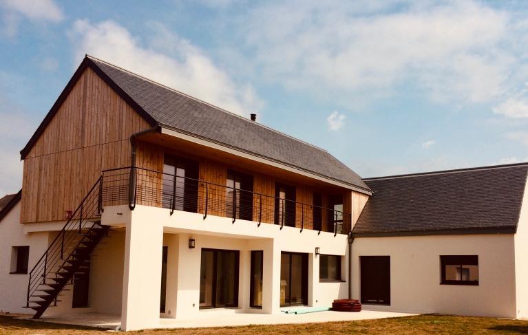 Belle habitation avec un systeme de chauffage confort serenité amzair