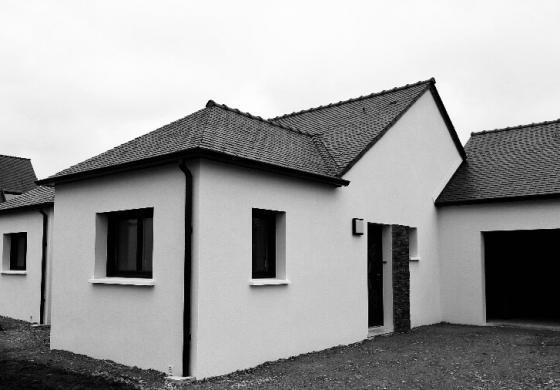 maison équipé d'une pac air eau amzair
