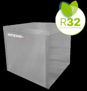 Choisissez la SOLUZEO AMZAIR pour remplacer votre PAC SOL SOL (GAZ/GAZ)
