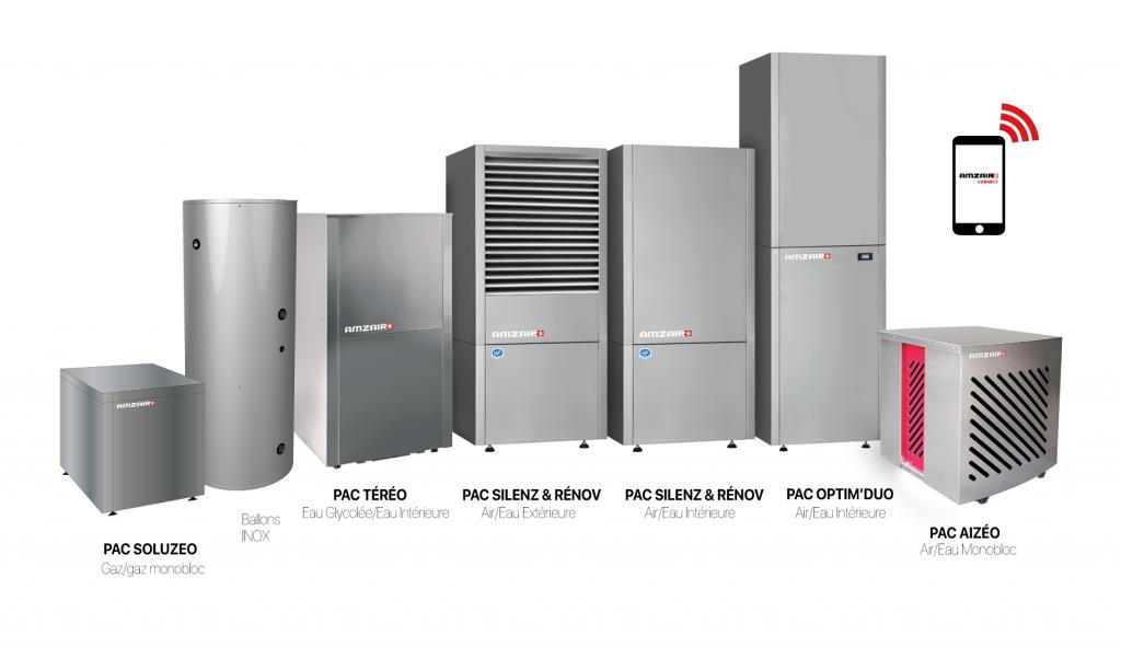Découvrez notre gamme de pompe à chaleur robustes et performantes