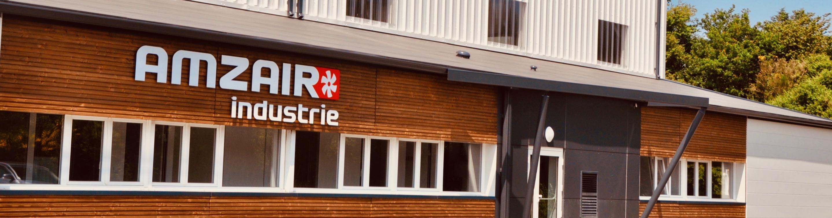 Usine à Brest en Bretagne AMZAIR Industrie pompes à chaleur 100% Francaise