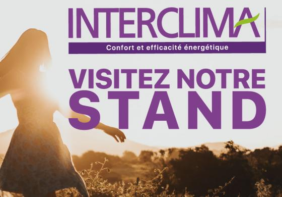Interclima 2019 Visitez notre-stand-AMZAIR-fabricant-de pompe a chaleur Francaise