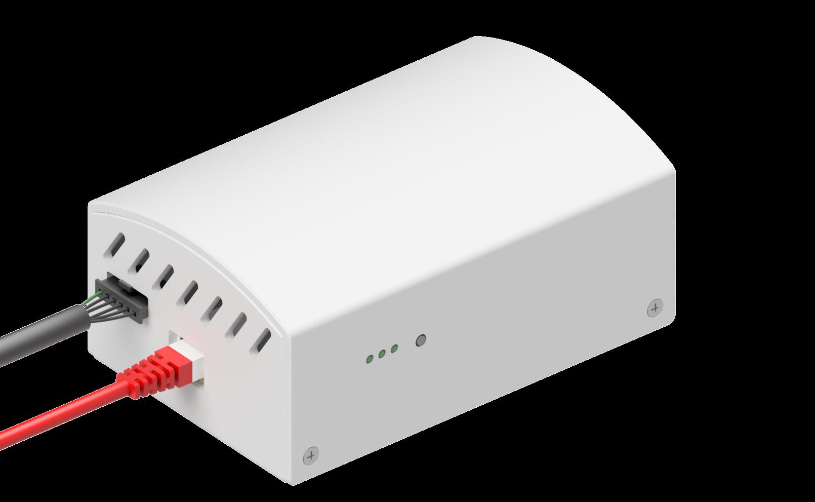 Boitier AMZAIR Connect, solution de pompe à chaleur connectée