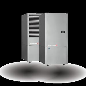 La pompe à chaleur RENOV Haute Température, idéale pour le remplacement des chaudières avec emetteurs haute température, comme les radiateurs en fonte