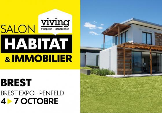 salon habitat immobilier Brest viving octobre 2019