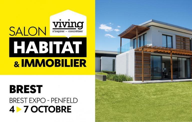 salon habitat immobilier Brest viving octobre 2019