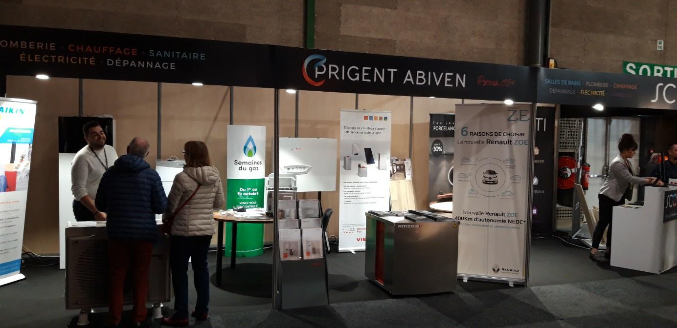 Prigent Abiven installateur partenaire pompe à chaleur AMZAIR
