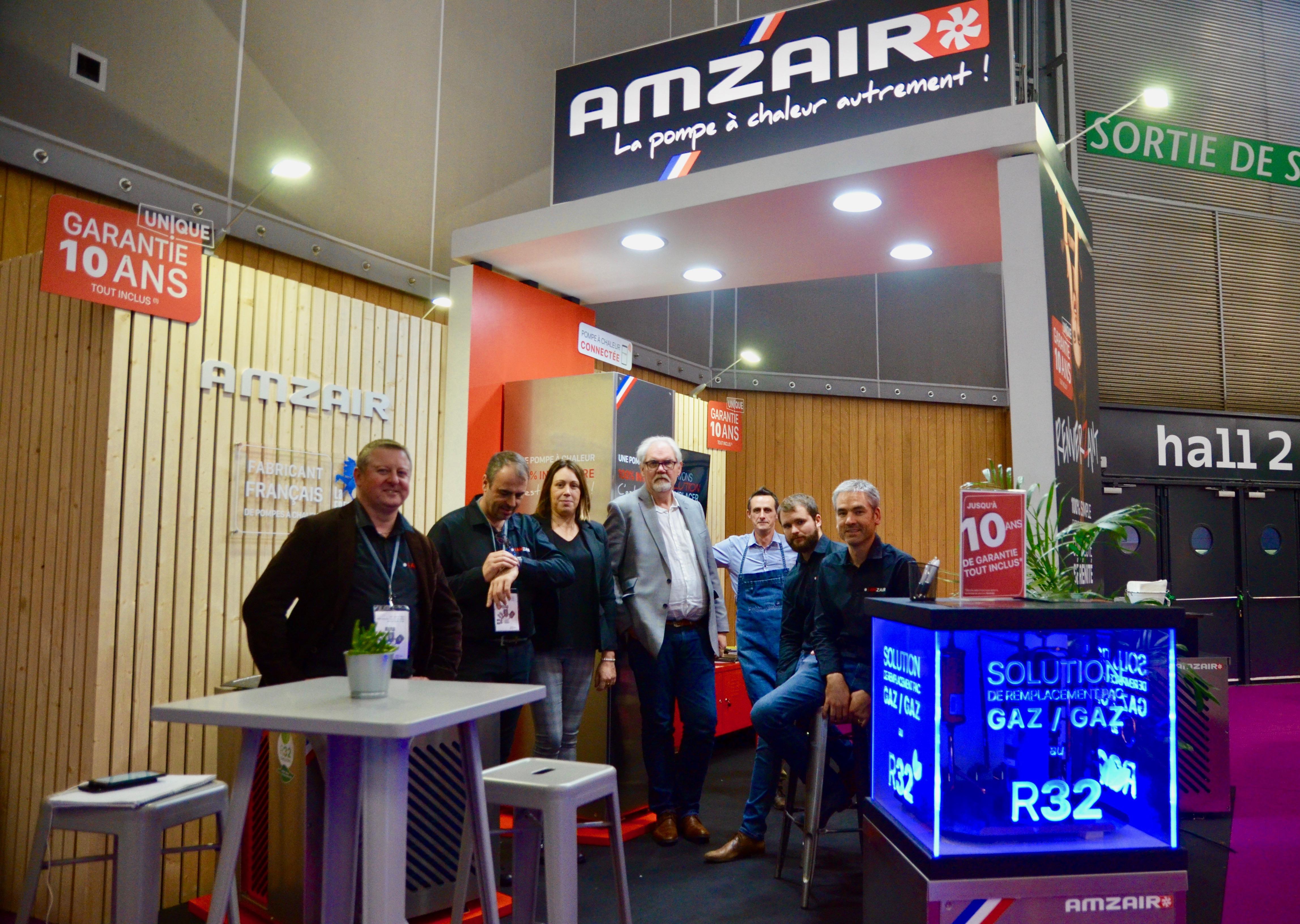 Notre équipe AMZAIR Industrie au salon INTERCLIMA