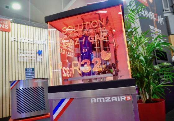 Solution de remplacement pompe à chaleur gaz/gaz au R32