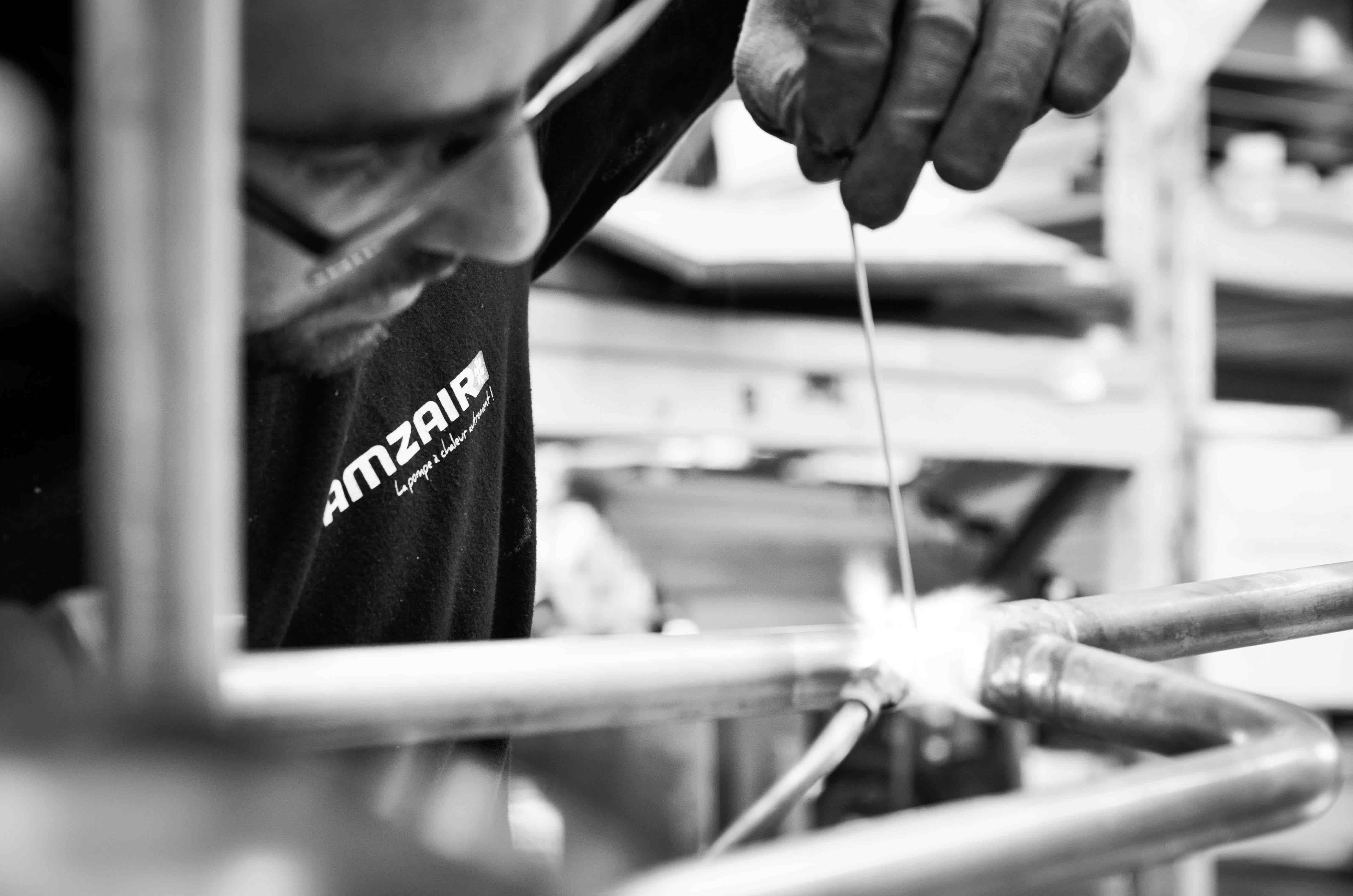 Le savoir faire d'AMZAIR Industrie, fabricant de pompes à chaleur 100% francaises