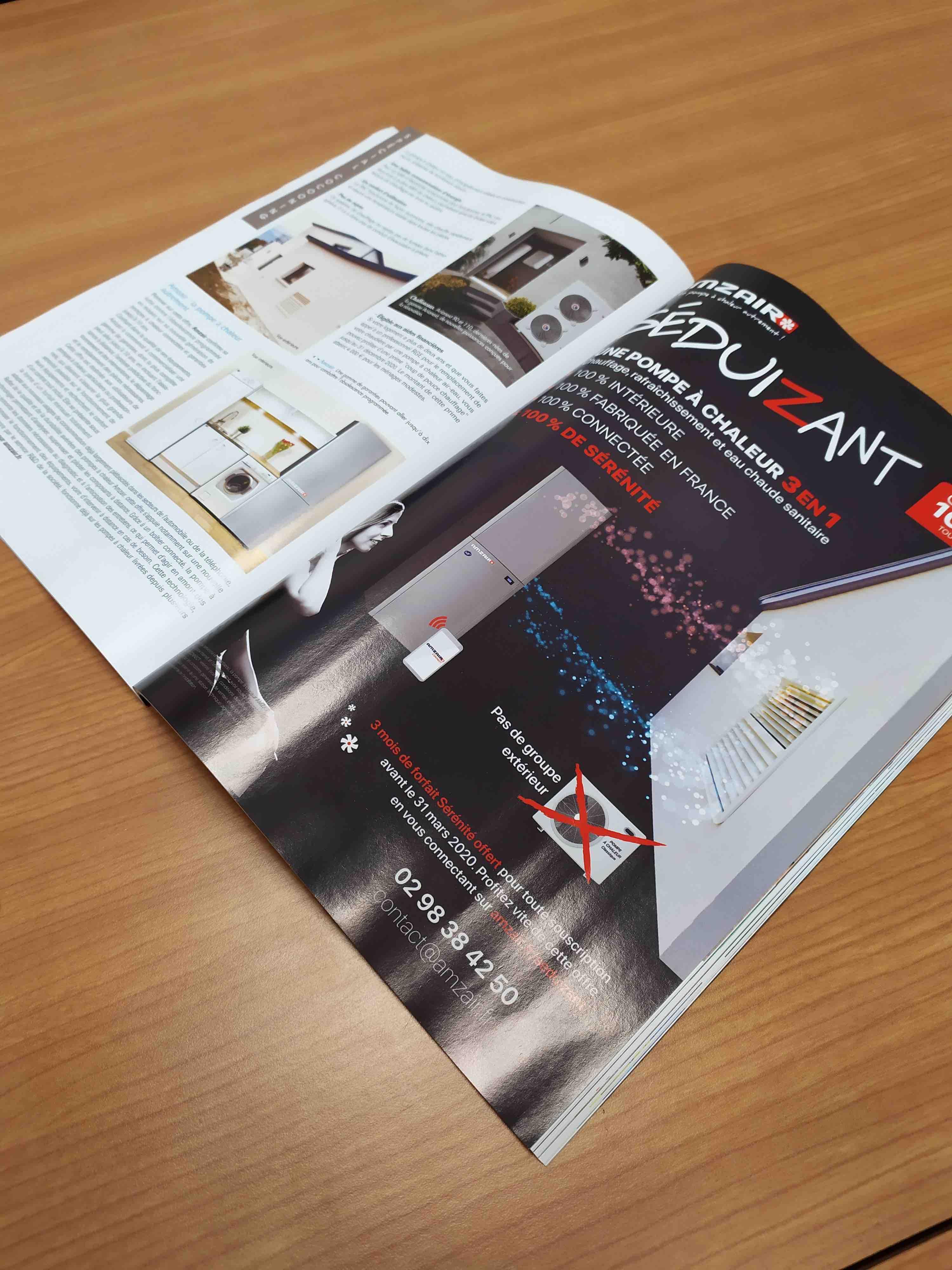 Publicité magazine amzair 2020