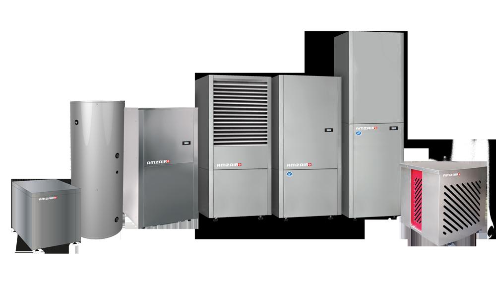 Découvrez nos gammes de pompes à chaleur aérothermiques et géothermiques