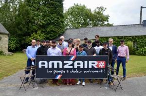 Photo de l'équipe AMZAIR - 23 juillet 2020