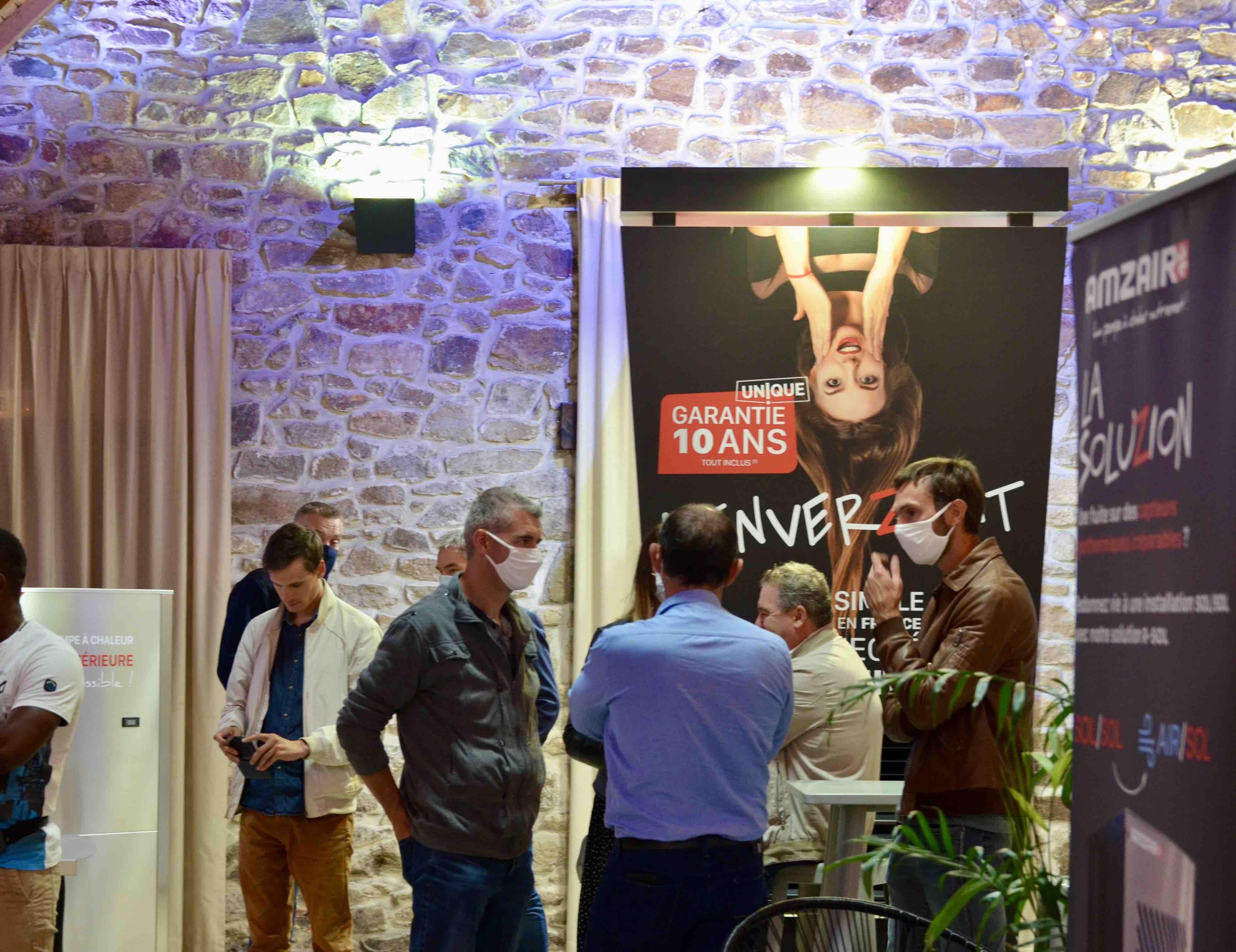 Photo de la 1ere édition du showroom AMZAIR à Brest