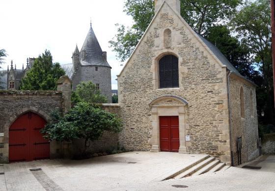 Réhabilitation de la Chapelle Josselin avec l'intégration d'une pompe à chaleur RENOV AMZAIR